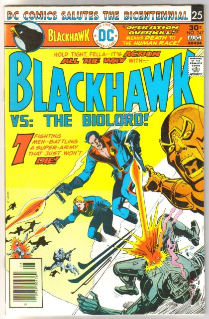 Blackhawk #247 comic book very fine/near mint 9.0