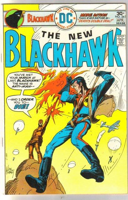 Blackhawk #245 comic book very fine/near mint 9.0