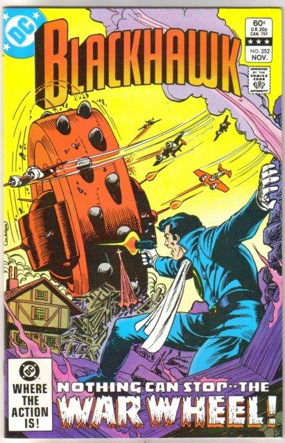 Blackhawk #252 comic book  mint 9.8