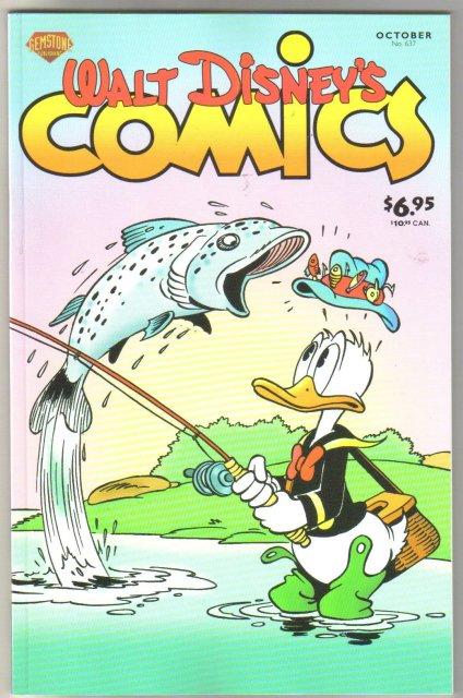 Gemstone Publications' Walt Disney's Comics #637 comic book mint 9.8