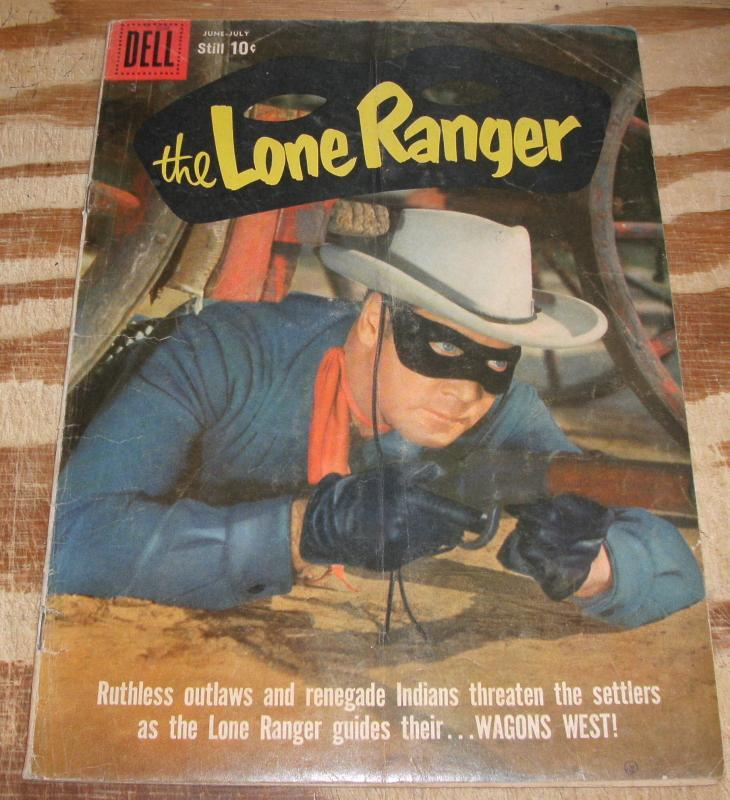 Lone Ranger #128 very good/fine 5.0