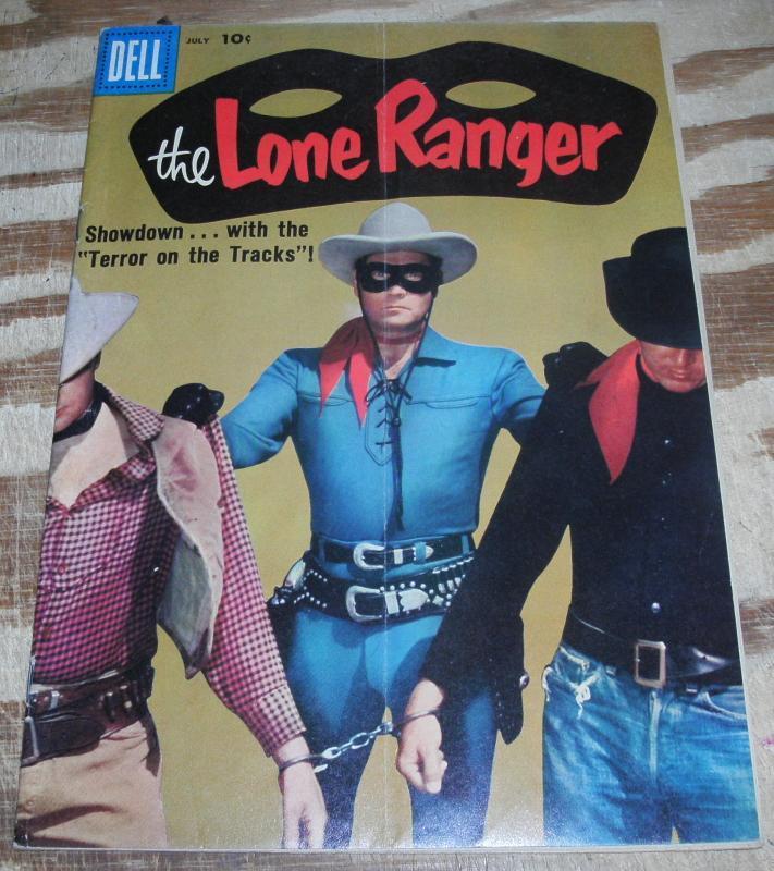 Lone Ranger #121 vg/fn 5.0
