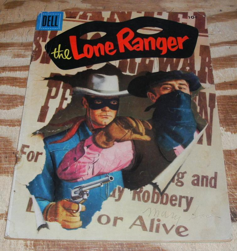 Lone Ranger #98 comic book vg 4.0