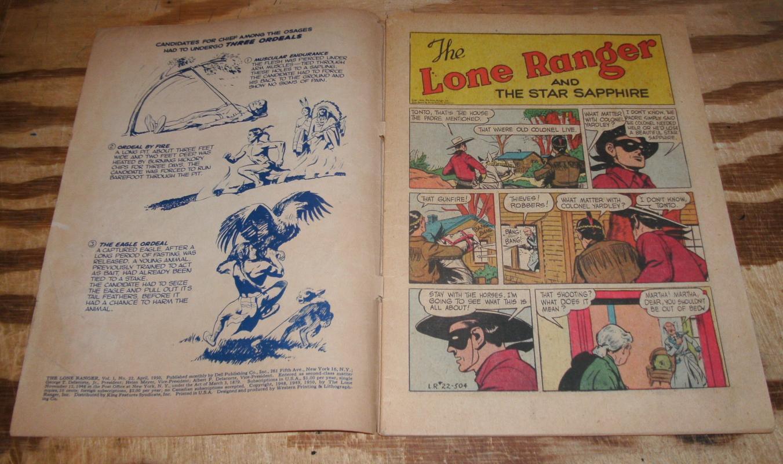 Lone Ranger #22 comic vg+ 4.5