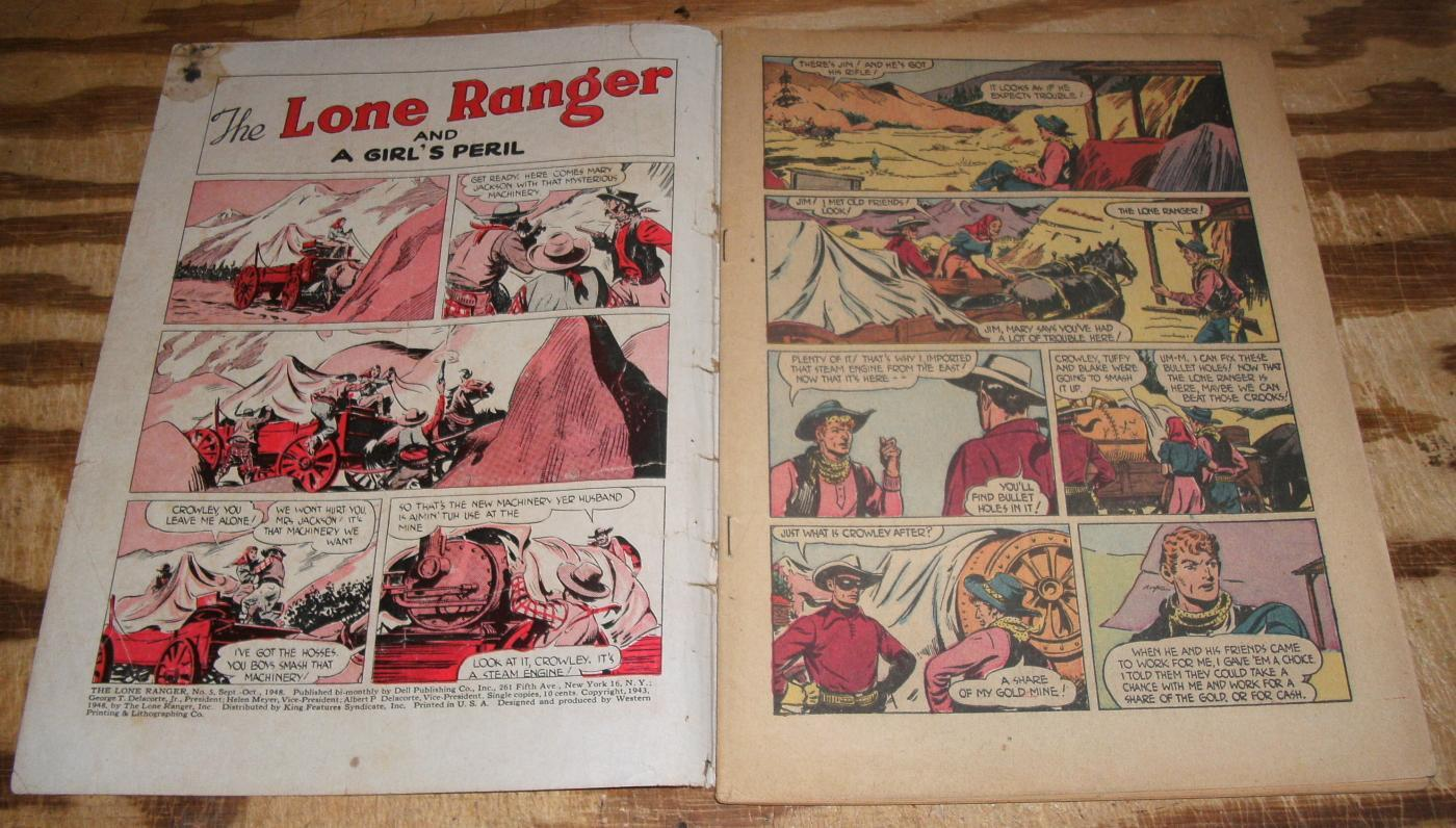 Lone Ranger #5 comic book good minus 1.8