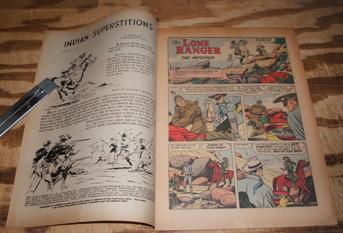 Lone Ranger #41 comic book fn 6.0