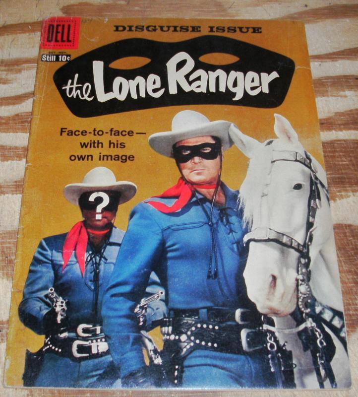 Lone Ranger #124 vg/fn 5.0