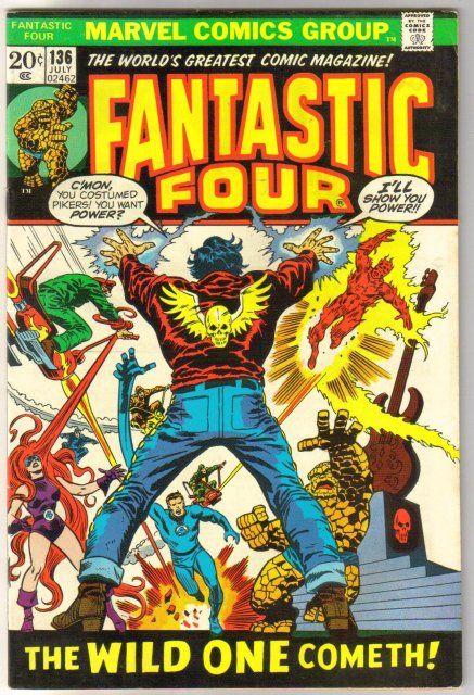 Fantastic Four #136 comic book fine/very fine 7.0