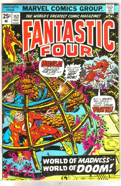 Fantastic Four #152 comic book very fine 8.0