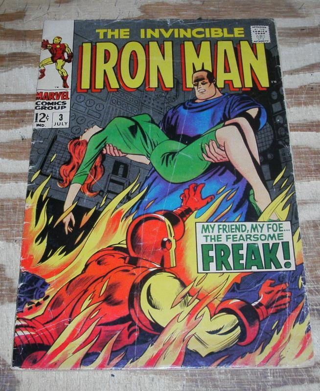 Iron Man #3 good/very good 3.0