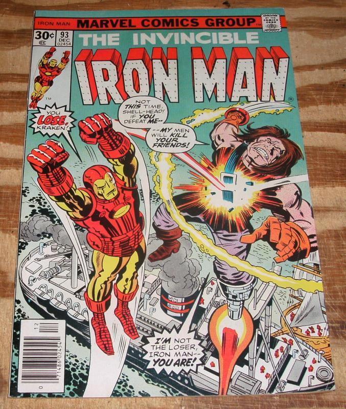Iron Man #93 very fine/near mint 9.0