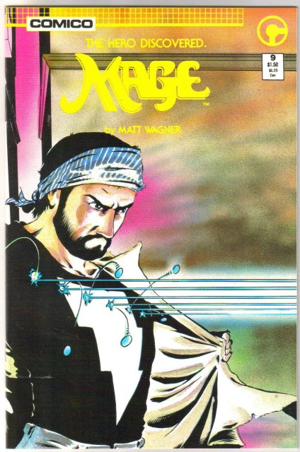 Mage #9 comic book near mint 9.4