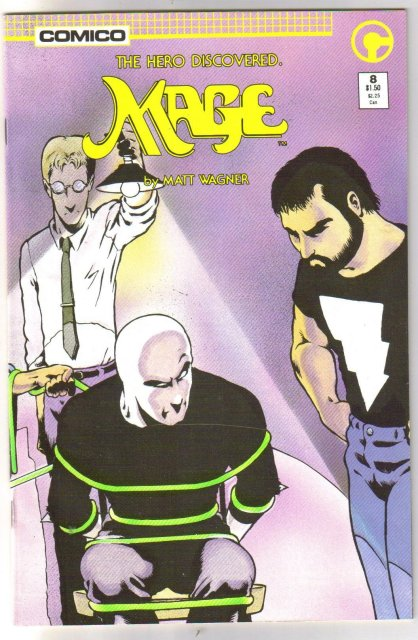 Mage #8 comic book near mint 9.4