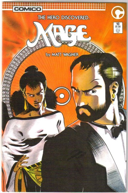 Mage #10 comic book near mint 9.4