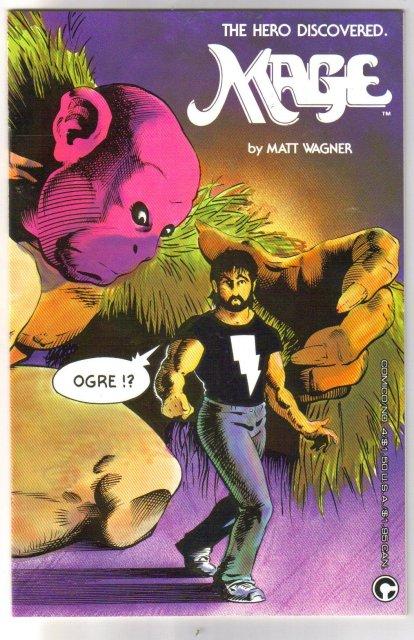 Mage #4 comic book mint 9.8