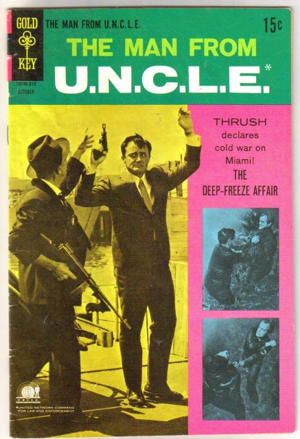 The Man From Uncle #20 comic book very good 4.0 U.N.C.L.E.