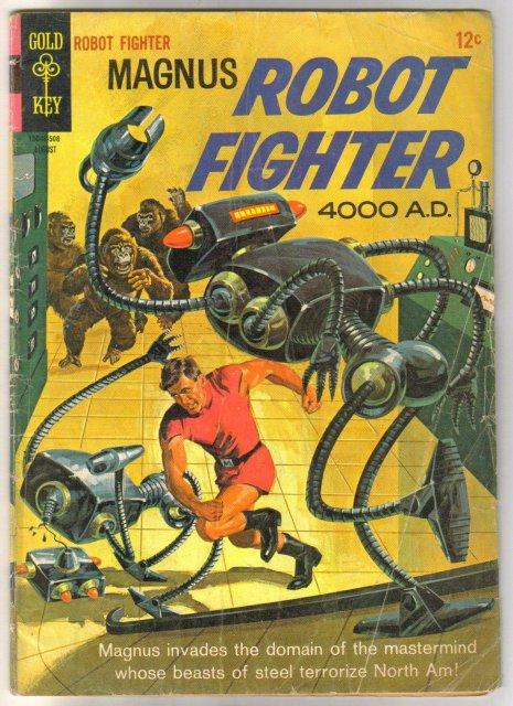 Magnus Robot Fighter #11 comic book good/very good 3.0