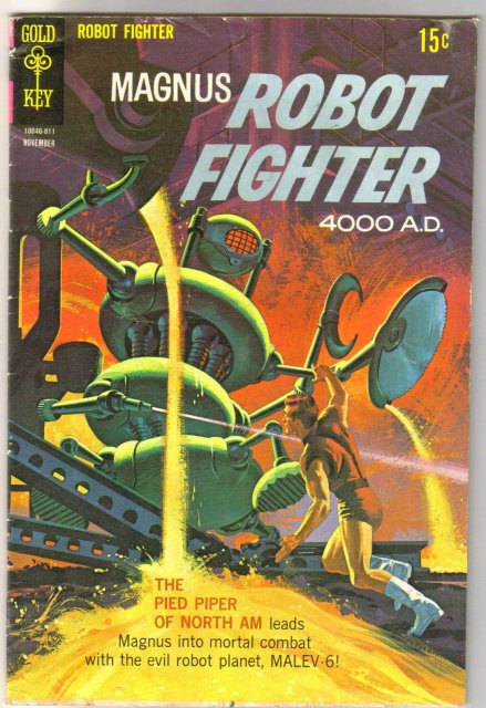 Magnus Robot Fighter #24 comic book very good 4.0