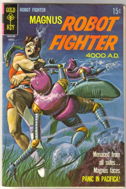 Magnus Robot Fighter #27 comic book very good 4.0