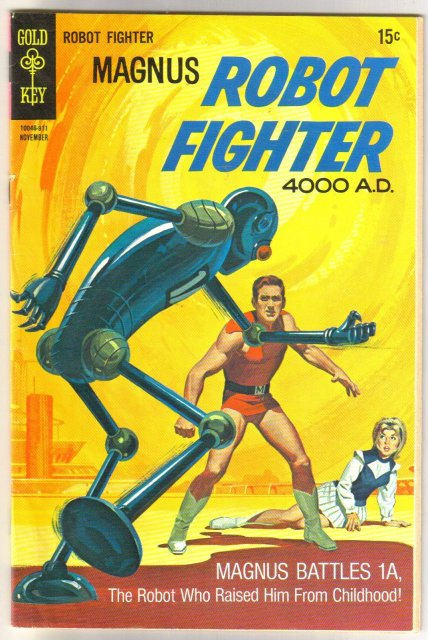 Magnus Robot Fighter #28 comic book very good/fine 5.0