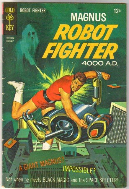 Magnus Robot Fighter #21 comic book fine 6.0