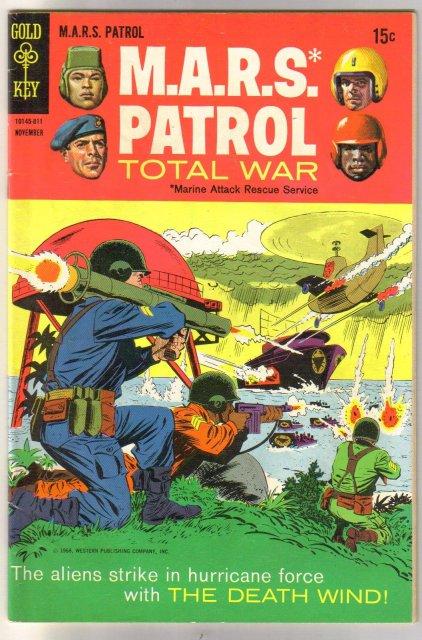 M.A.R.S. Patrol Total War #7 comic book very good/fine 5.0