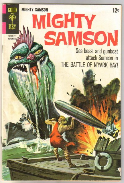 Mighty Samson #12 comic book very good/fine 5.0