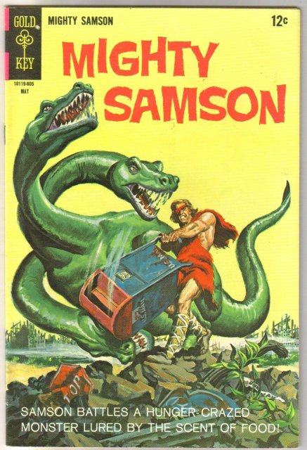 Mighty Samson #14 comic book fine 6.0