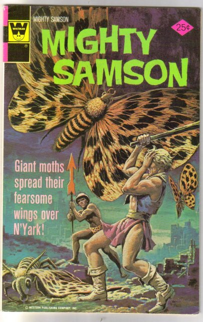 Mighty Samson #31 comic book fine 6.0