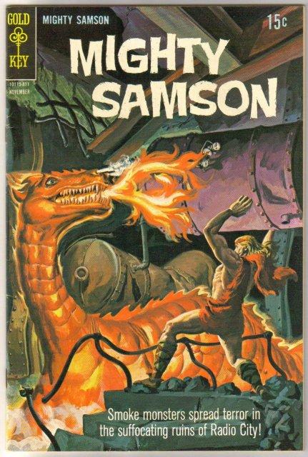 Mighty Samson #16 comic book very fine 8.0