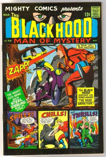 Mighty Comics Presents The Black hood #44 comic book very fine 8.0