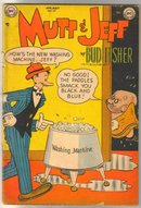 Mutt & Jeff  #57 comic book very good 4.0