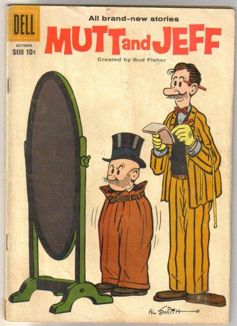 Mutt and Jeff  #104 comic book very good/fine 5.0