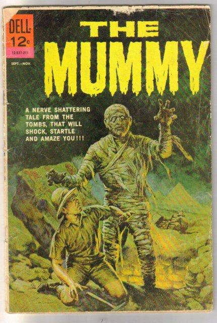 The Mummy comic book good/very good 3.0