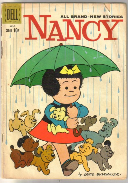 Nancy and Sluggo #168 comic book very good 4.0