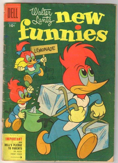 Walter Lantz New Funnies #223 comic book good 2.0