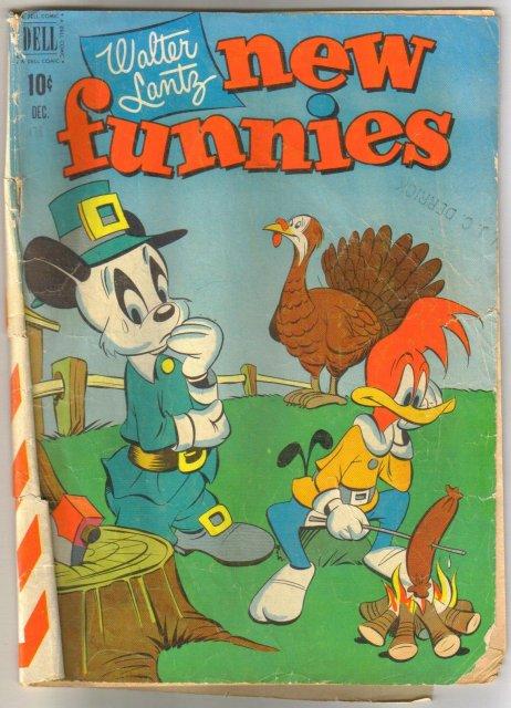 Walter Lantz New Funnies #178 comic book good 2.0
