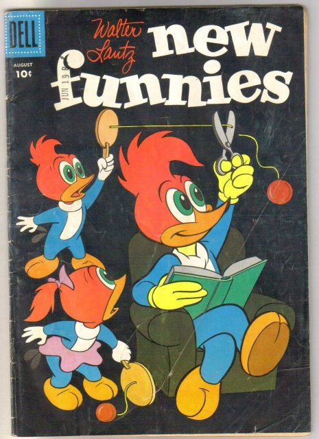 Walter Lantz New Funnies #234 comic book very good 4.0