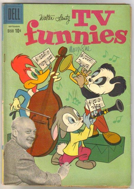 Walter Lantz TV New Funnies #271 comic book very good/fine 5.0