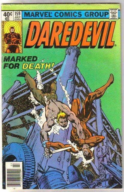 Daredevil #159 comic book very good 4.0