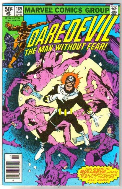 Daredevil #169 comic book fine 6.0