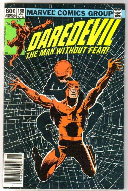 Daredevil #188 comic book very fine 8.0