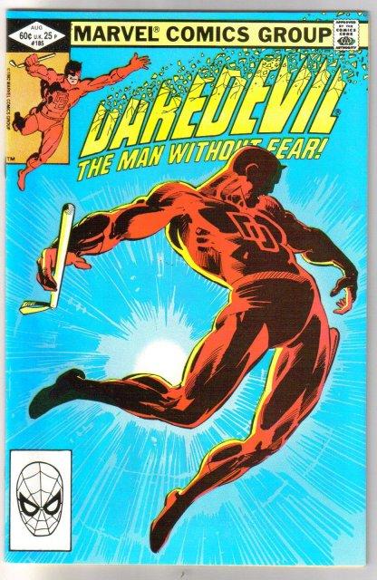 Daredevil #185 comic book near mint 9.4