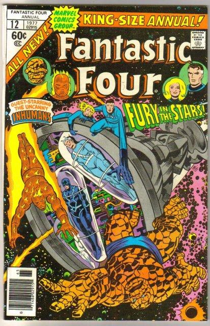 Fantastic Four annual #12 comic book very fine/near mint 9.0