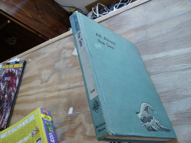 All About the Sea by Ferdinand Lane Random House 1953