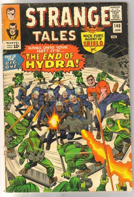 Strange Tales #140 comic book good/very good 3.0