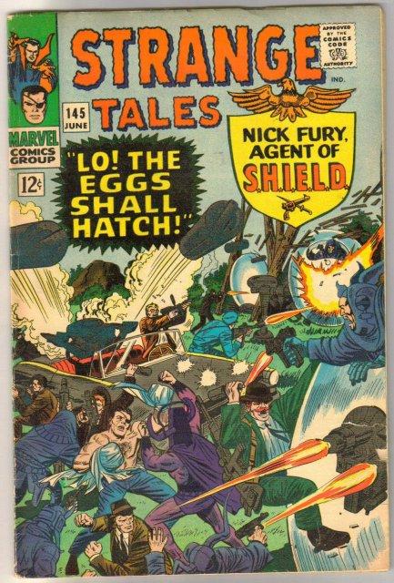 Strange Tales #145 comic book very good 4.0