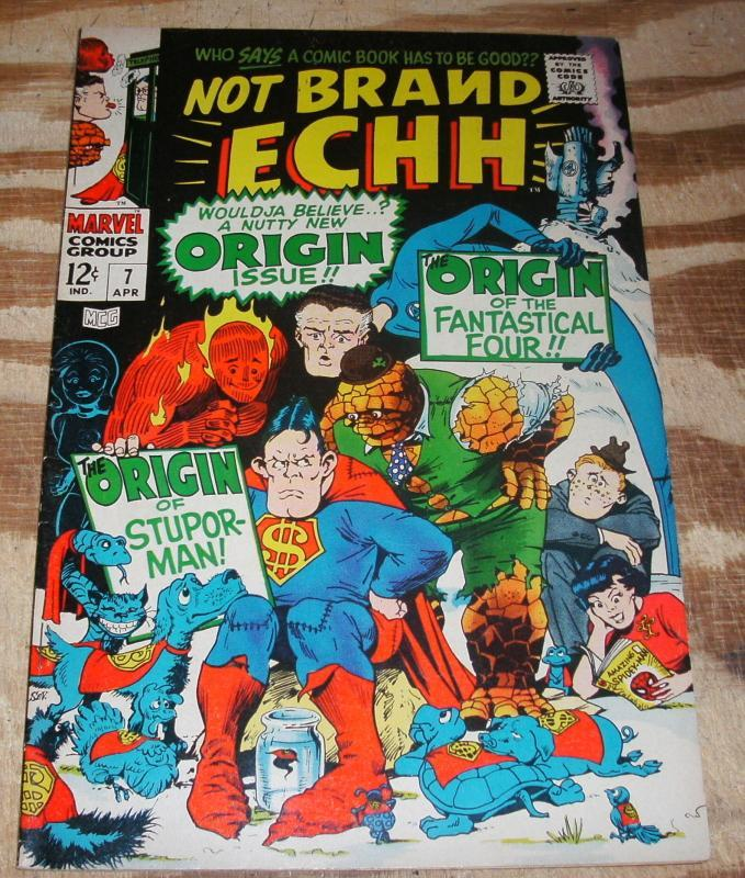 Not Brand Echh #7 very fine/near mint 9.0