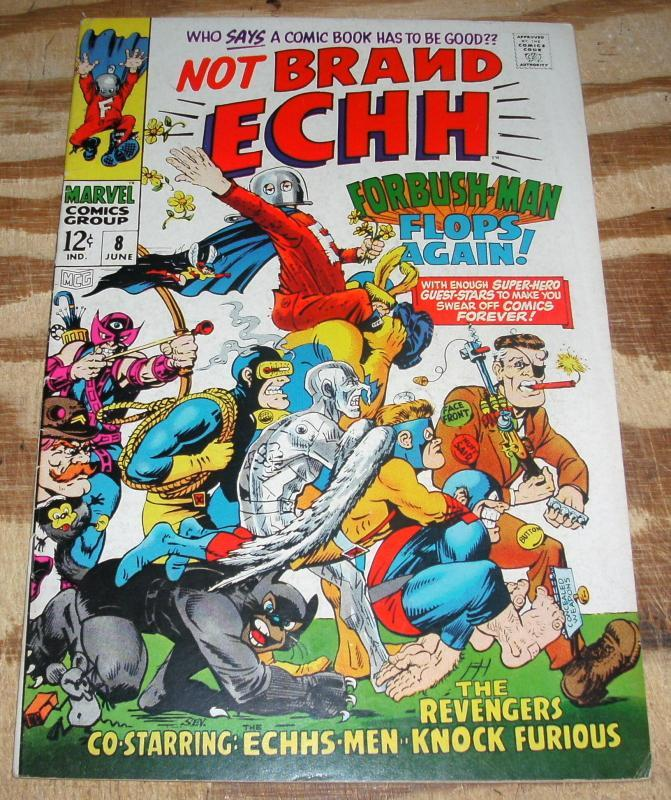 Not Brand Echh #8 very fine/near mint 9.0