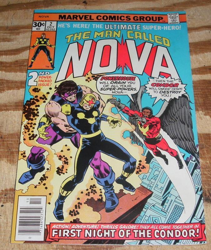 The Man Called Nova #2 near mint 9.4